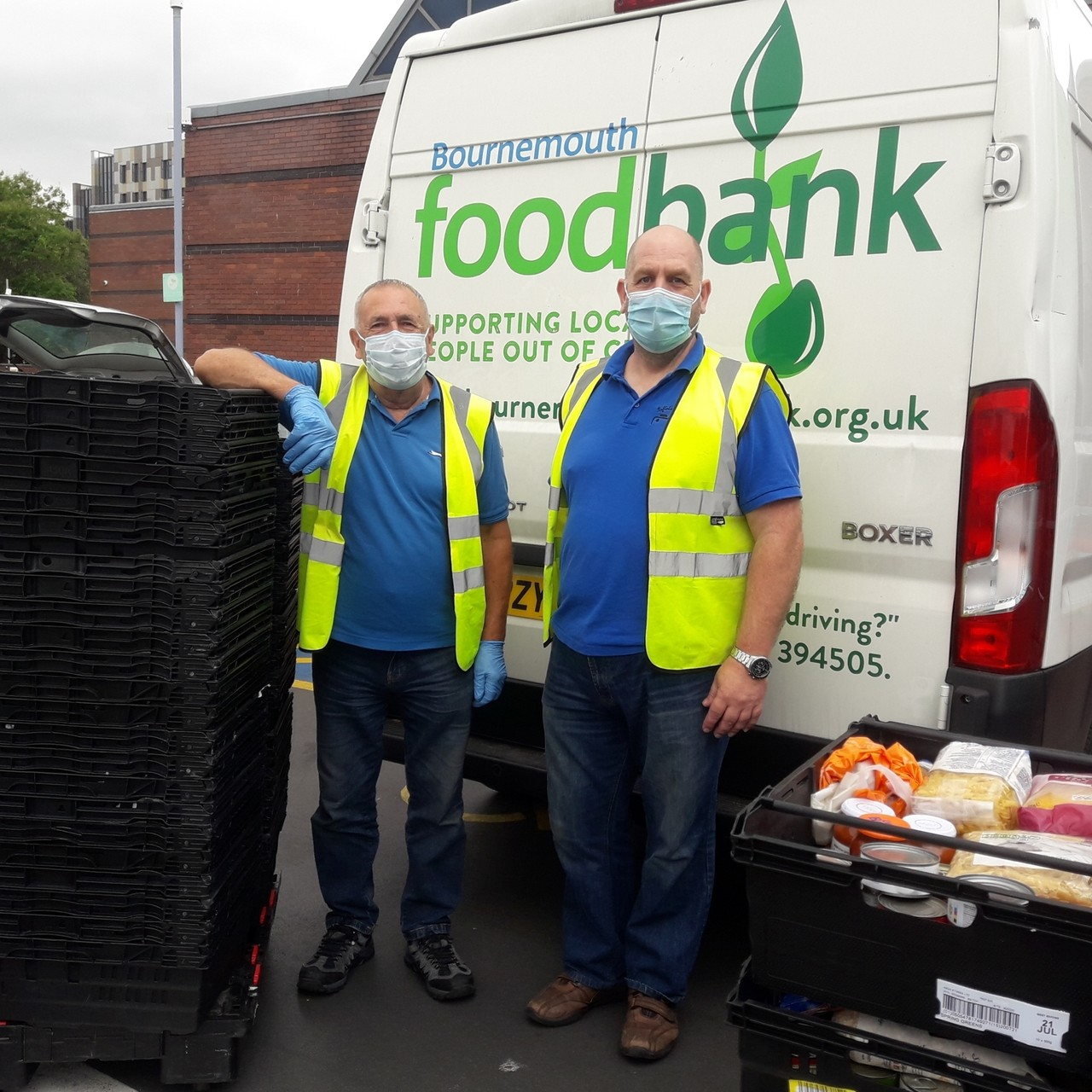 Supporting Bournemouth Foodbank | Asda Bournemouth