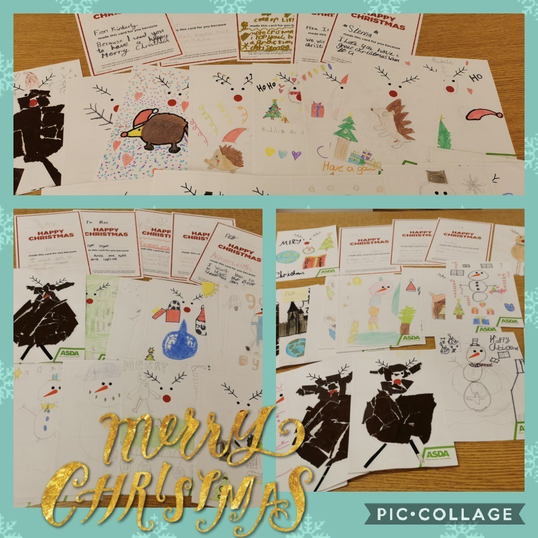 The Children of Victoria Primary School have made Christmas Cards to send to the residents of Thorntree Mews Care Home especially Jack, Margaret and Roy who don't have any family.</p | Asda Falkirk
