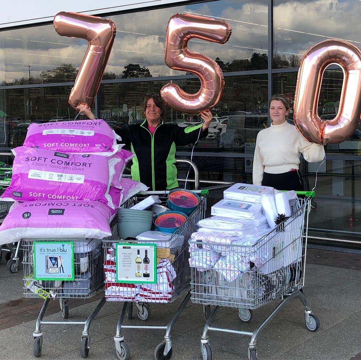£750 grant toSwindon Domestic Abuse  | Asda Swindon Haydon