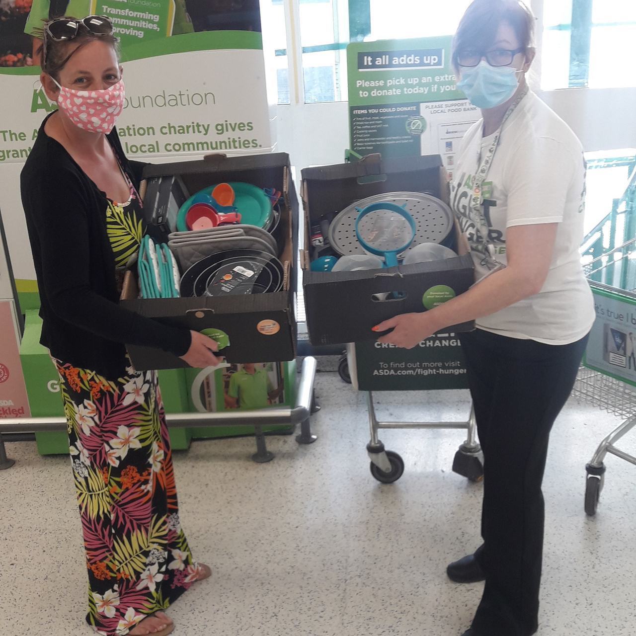 Baking items for Kanes Hill Primary School | Asda Southampton