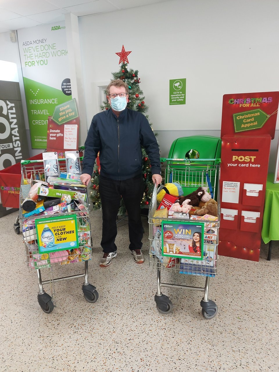 Bolton Lions' Christmas Toy Appeal | Asda Farnworth