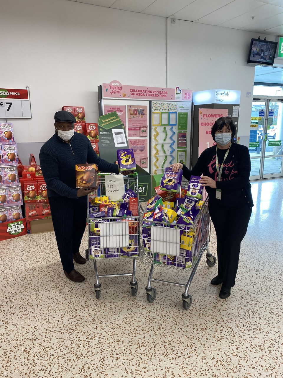 Easter Egg appeal | Asda Cookstown