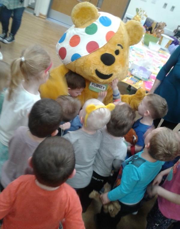 BBC Children in Need Sutton in Ashfield