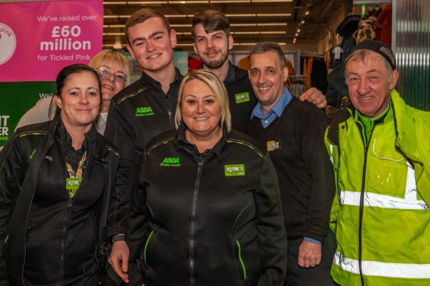 Friendly colleagues from Asda Breck Road in Liverpool