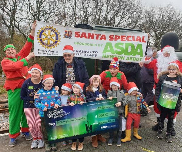 Asda Foundation Christmas grant at Asda Newton Abbot