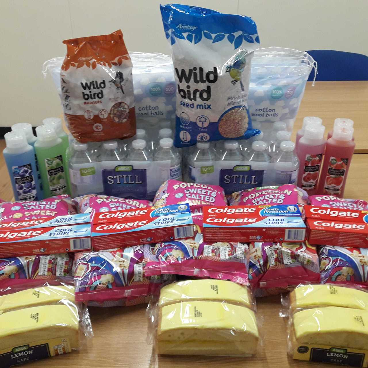 Donation to Lacey Court residents  | Asda Rawtenstall