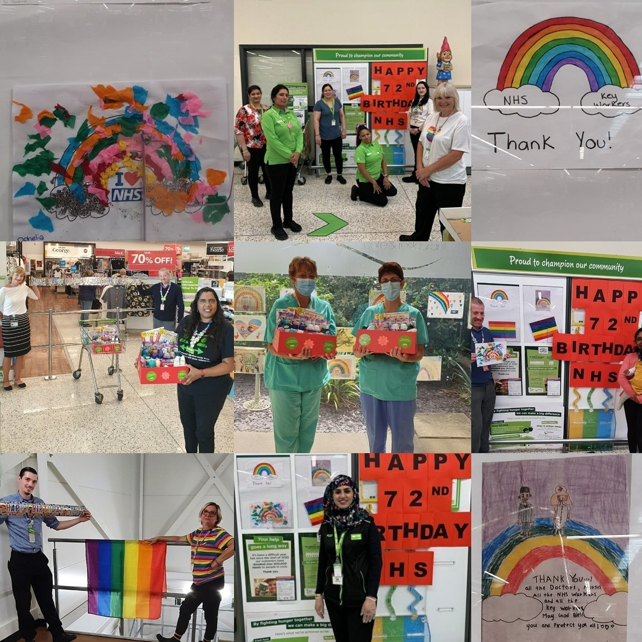 Happy 72nd birthday NHS 🥳 | Asda Hayes