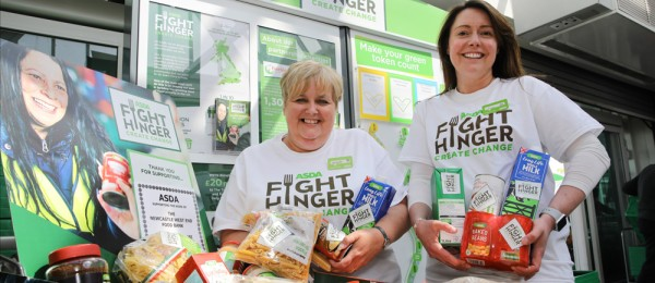 Asda Fight Hunger Create Change at Asda Gosforth