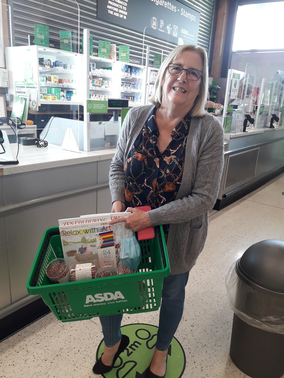 Donation to Sefton OPERA | Asda Bootle