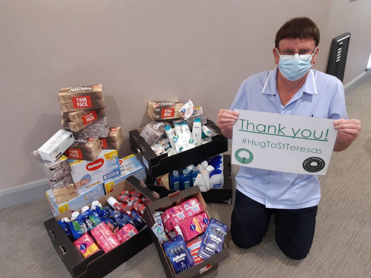 Celebrating Asda Foundation hygiene grant | Asda Darlington