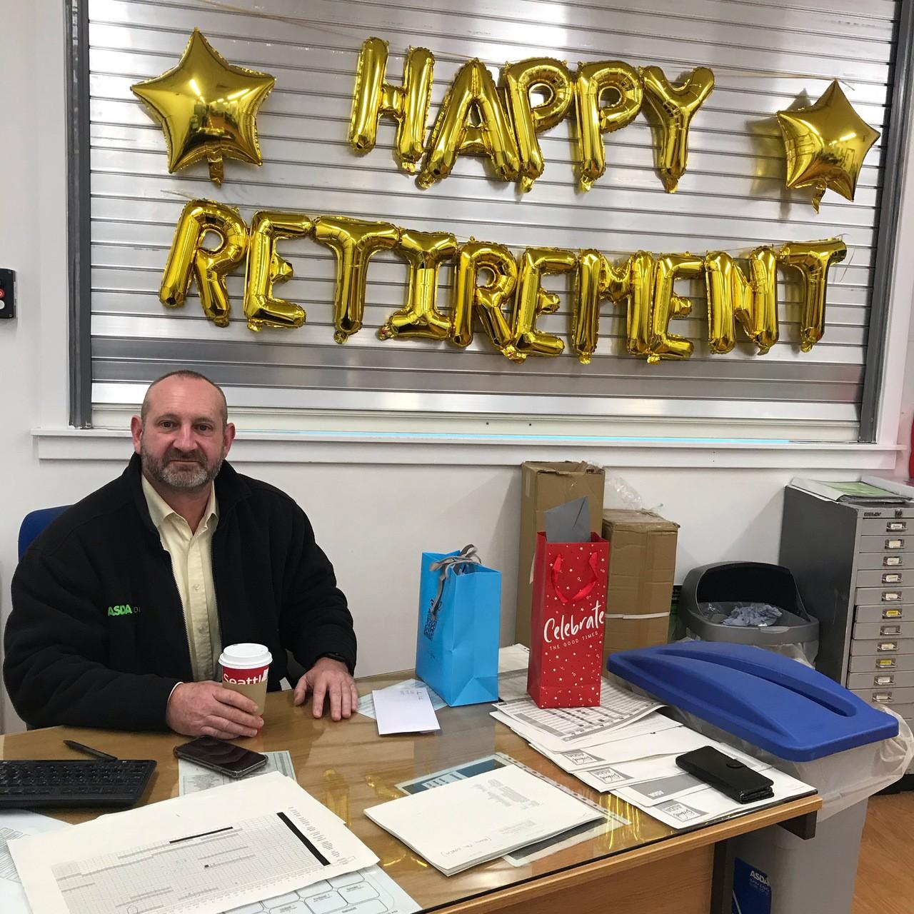 End of an era for retiring Ayr store manager | Asda Ayr