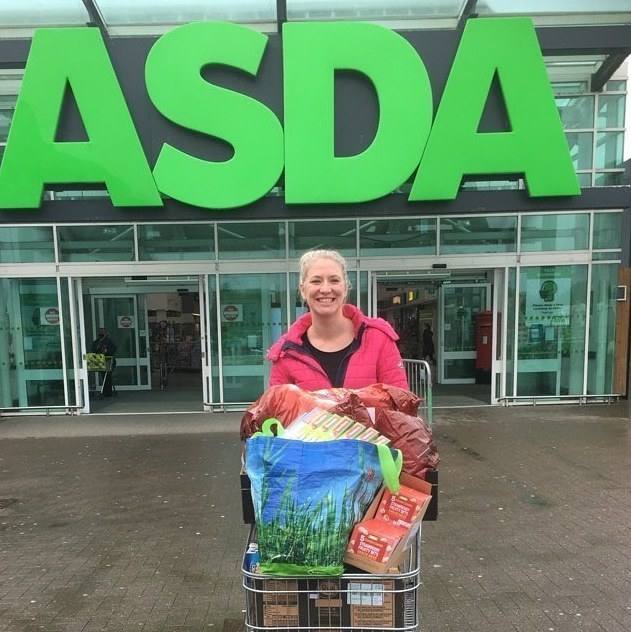 Donation of food for after school club. | Asda Dyce