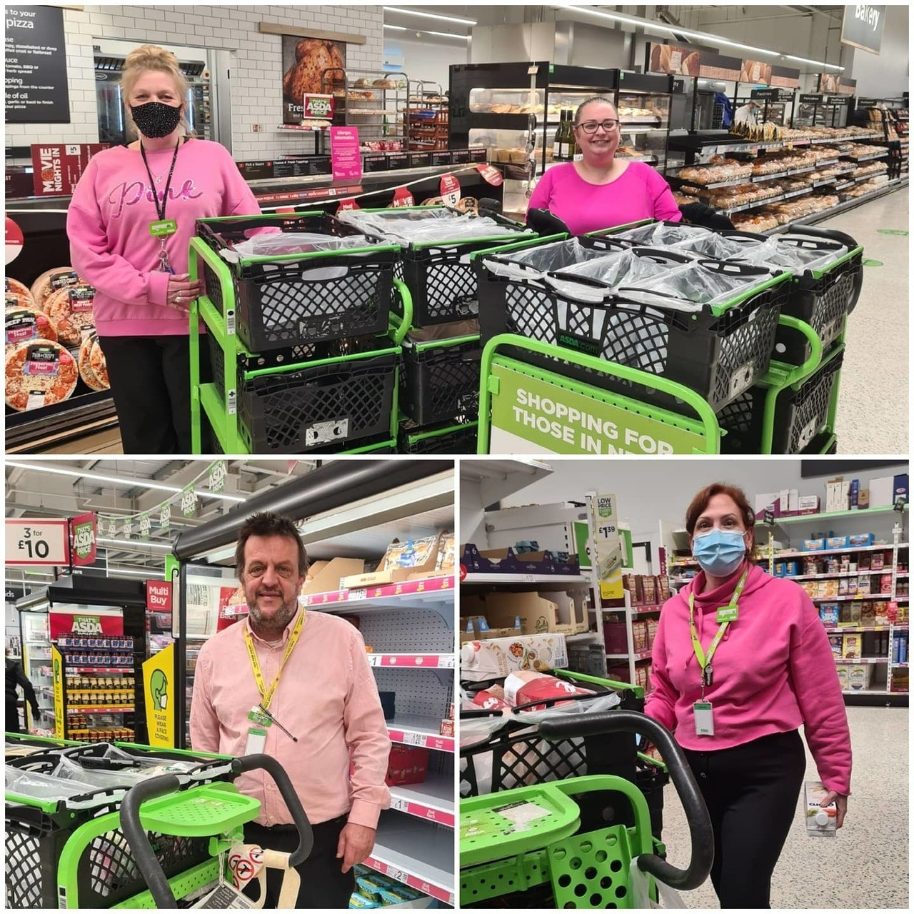 Tickled Pink | Asda Newport Isle of Wight