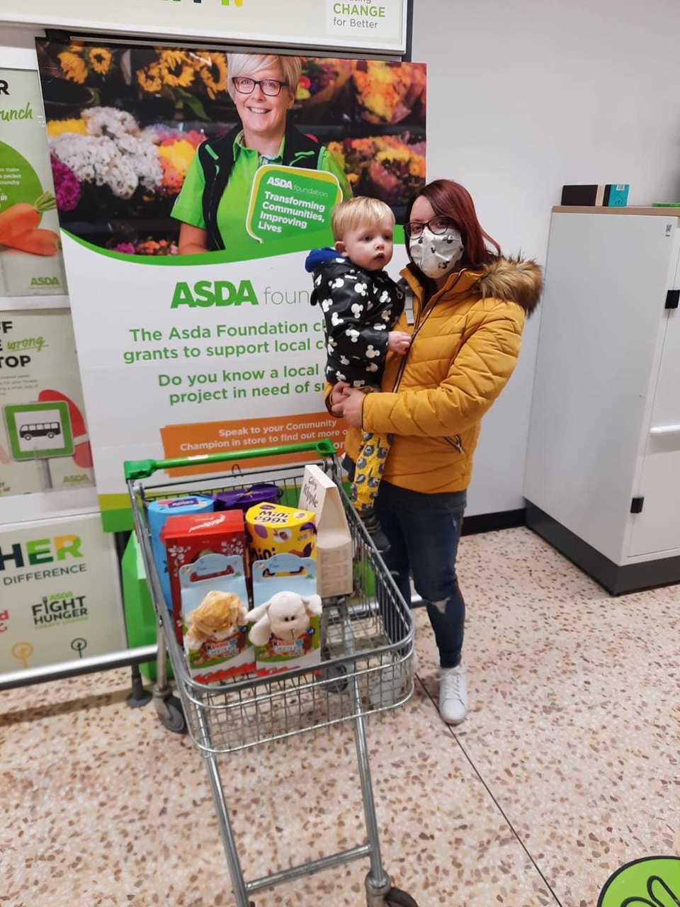 Donations to St Kanes | Asda Peterhead