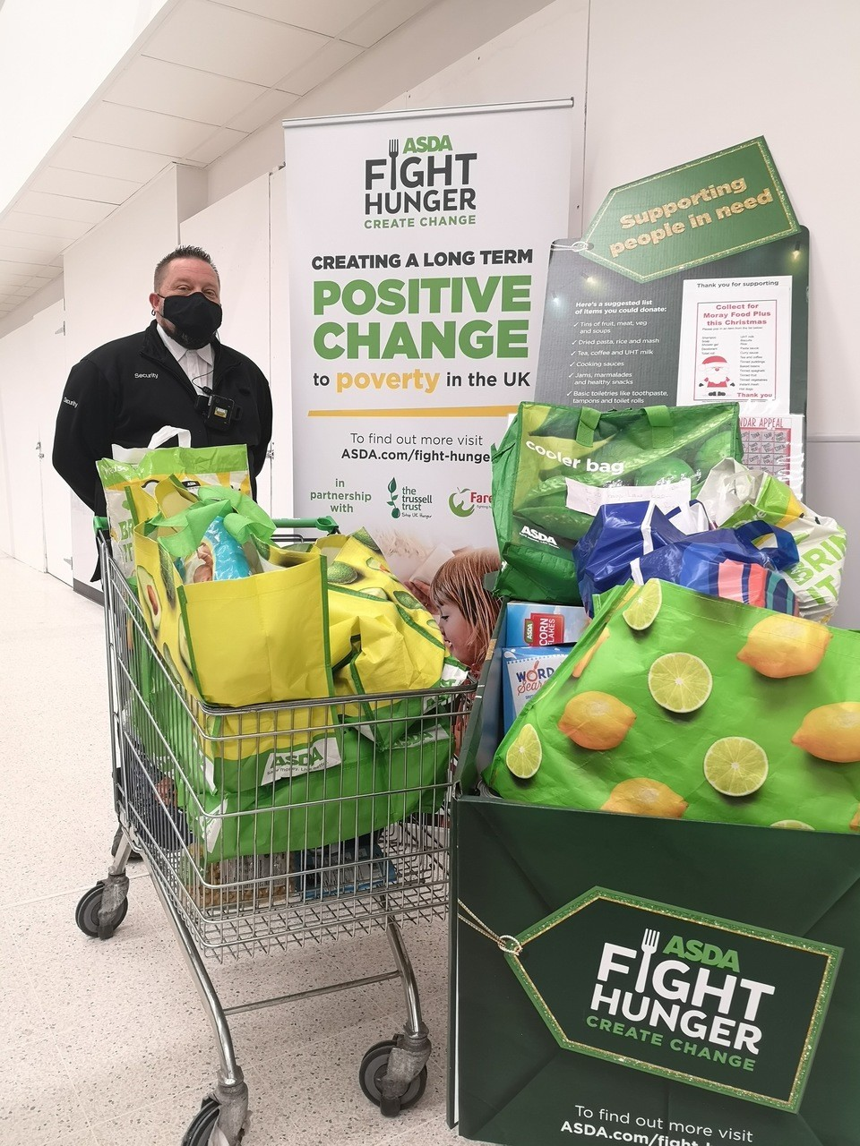 Food bank appeal | Asda Elgin