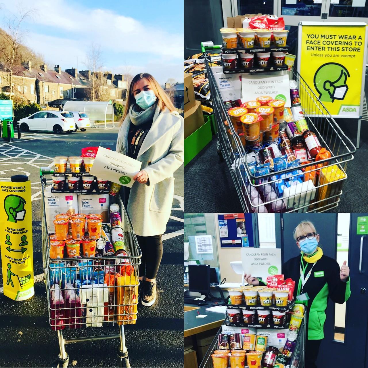 Helping feed people in crisis | Asda Pwllheli