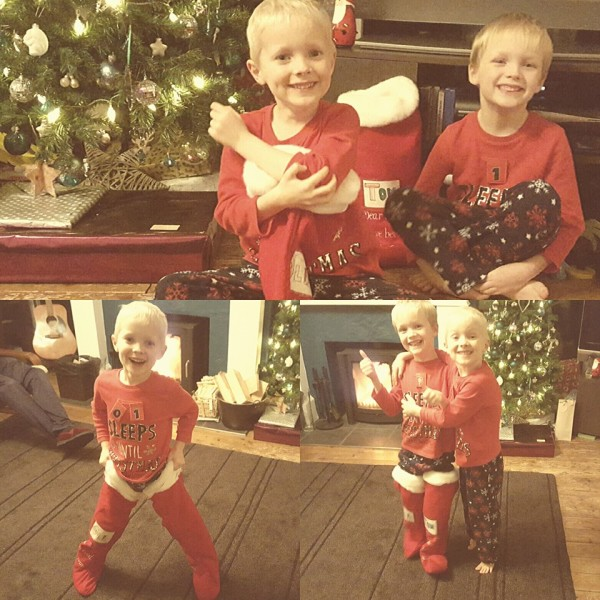 Tom and Oli – Christmas Eve