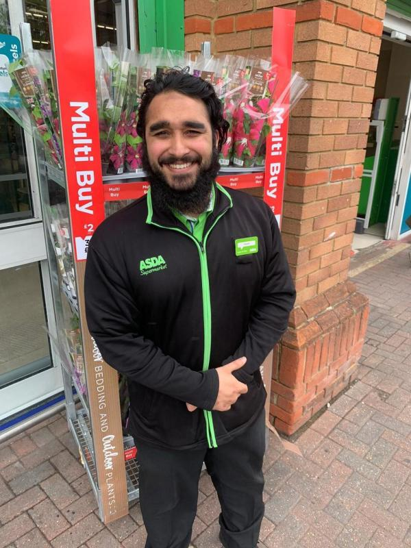 Hassan Riaz from Asda Woking