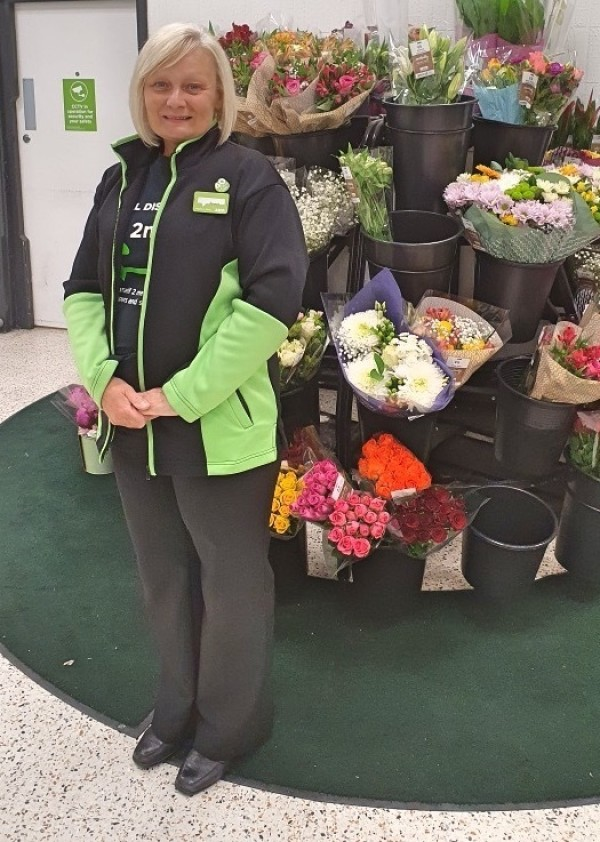 Joanne Hoben has worked at Asda Brierley Hill for 42 years