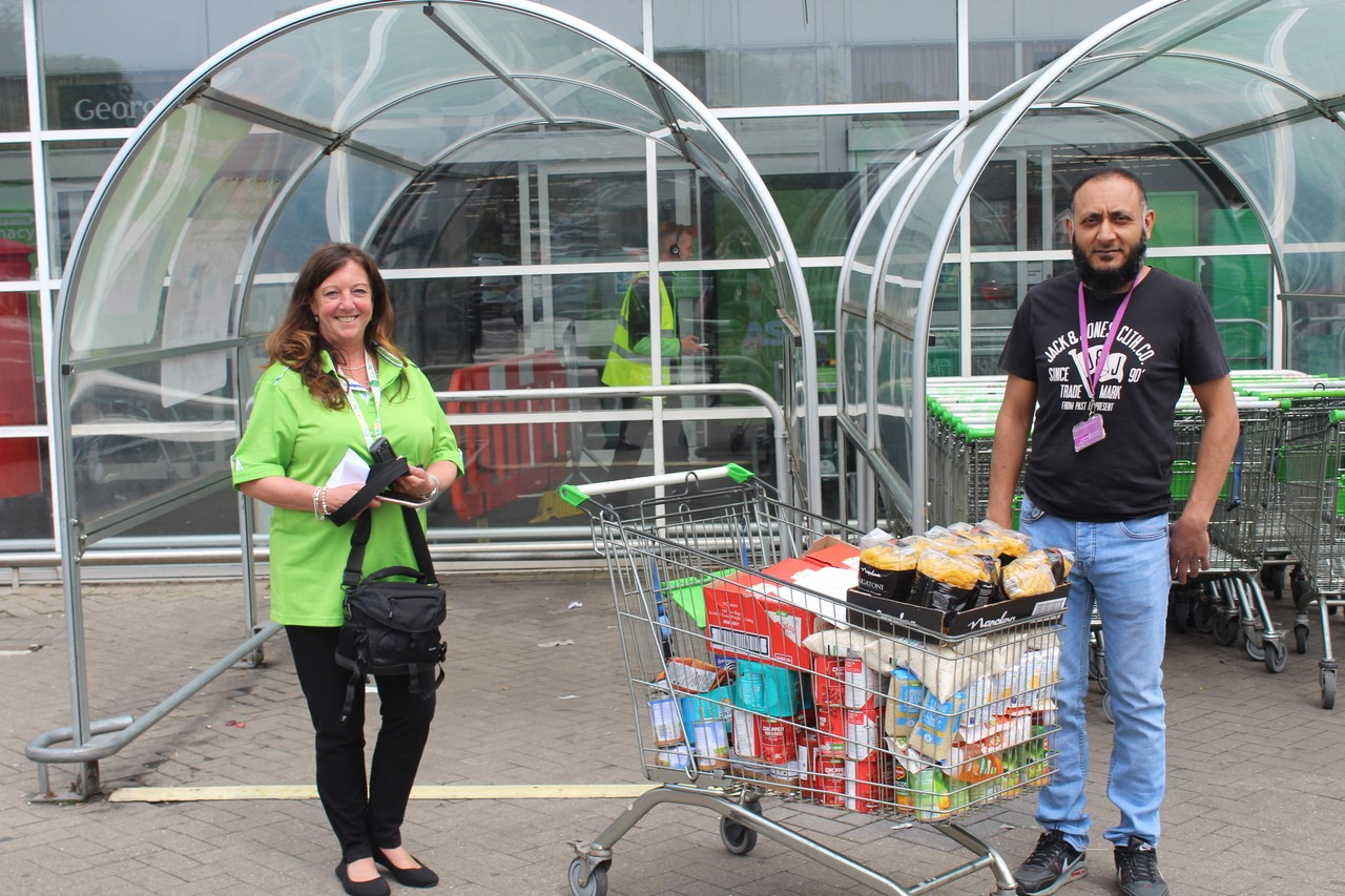 Bolton store food donation to the Eden Boys' School.   | Asda Bolton