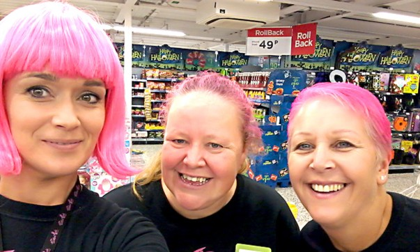 Tickled Pink at Asda Fareham