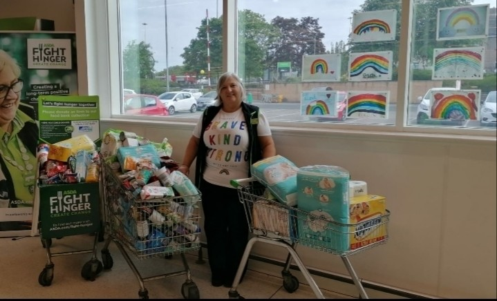 Fight Hunger donations  | Asda Motherwell