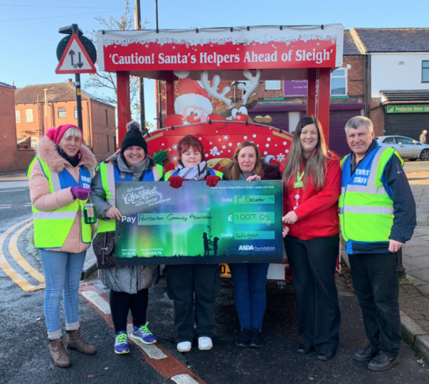 Christmas grant from Asda Wigan