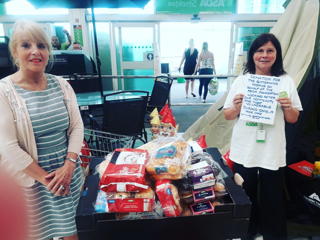 Donation to the Butterwick Hospice  | Asda Stockton