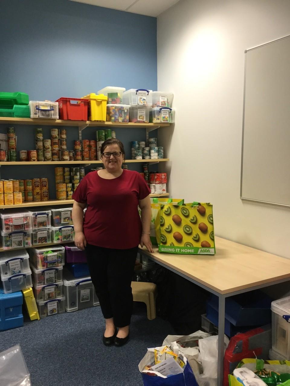 Grant for school larder | Asda Elgin