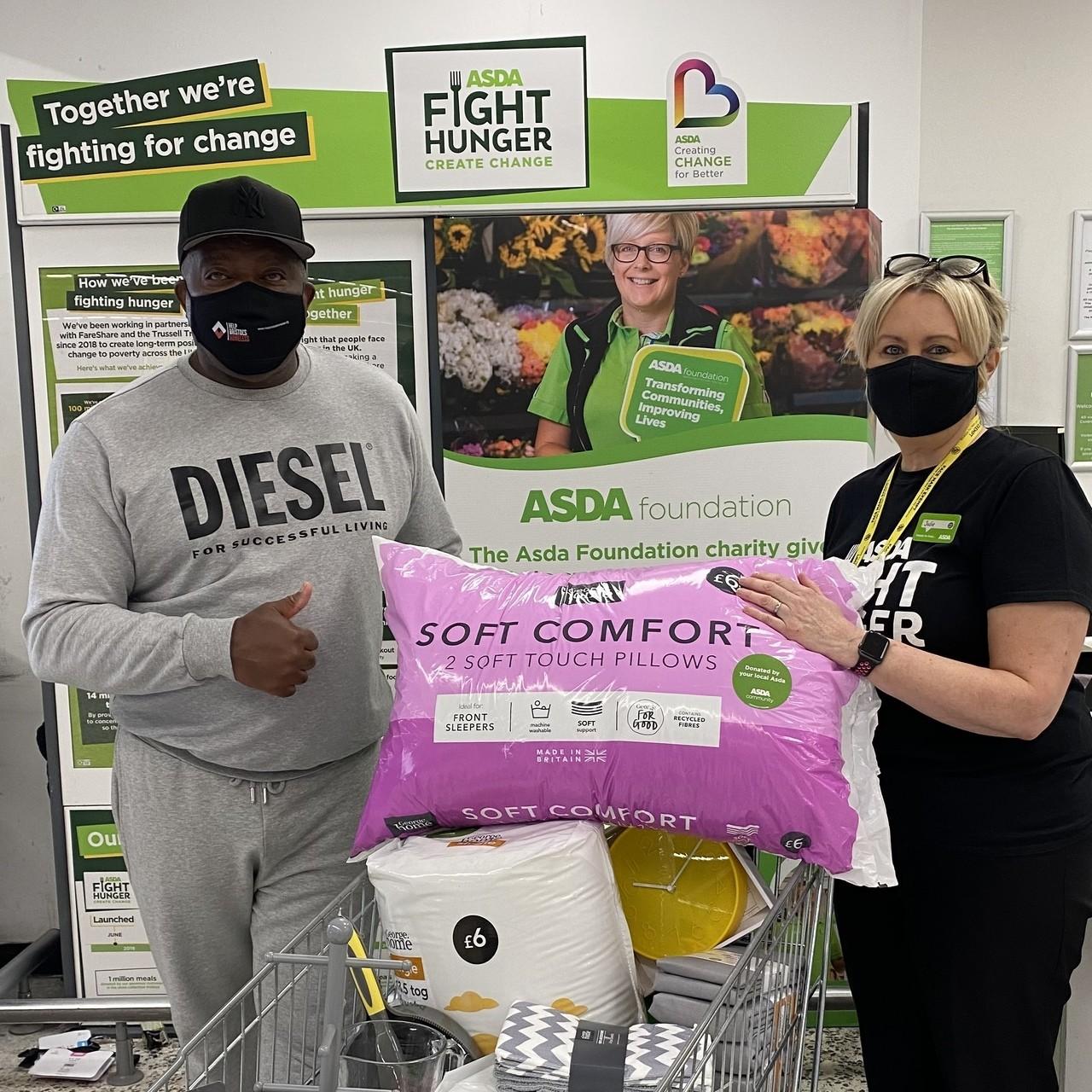 Help Bristol's Homeless donation | Asda Bedminster