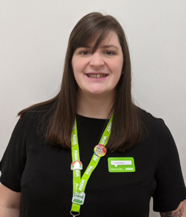 Pamela Marshall from Asda Dumbarton