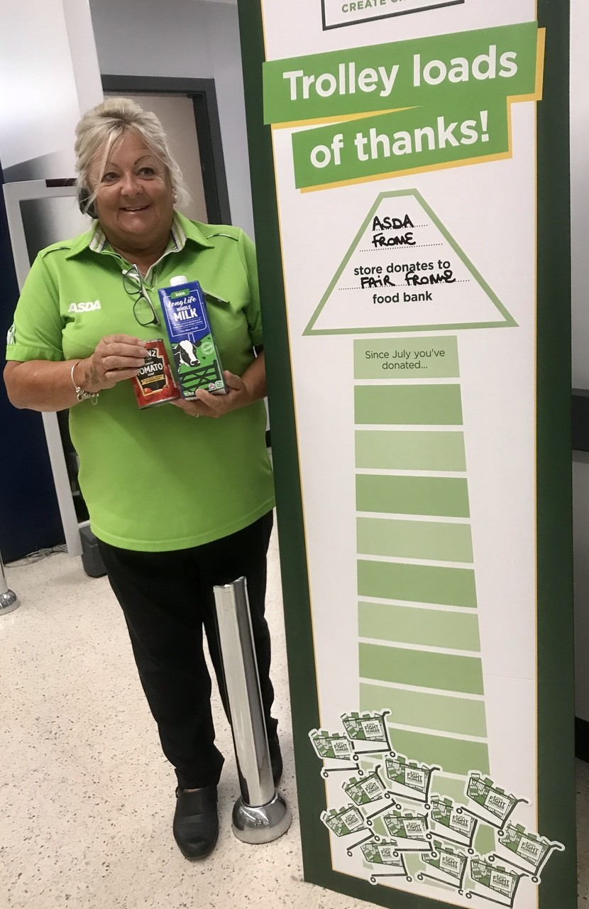 Supporting Fight Hunger Create Change | Asda Frome