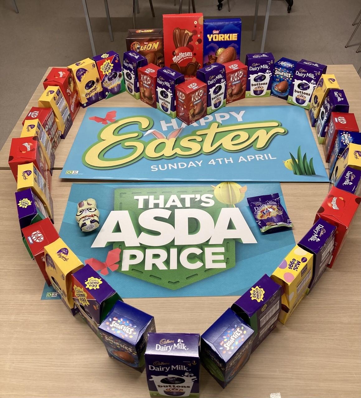 NHS Easter eggs   Asda Wheatley