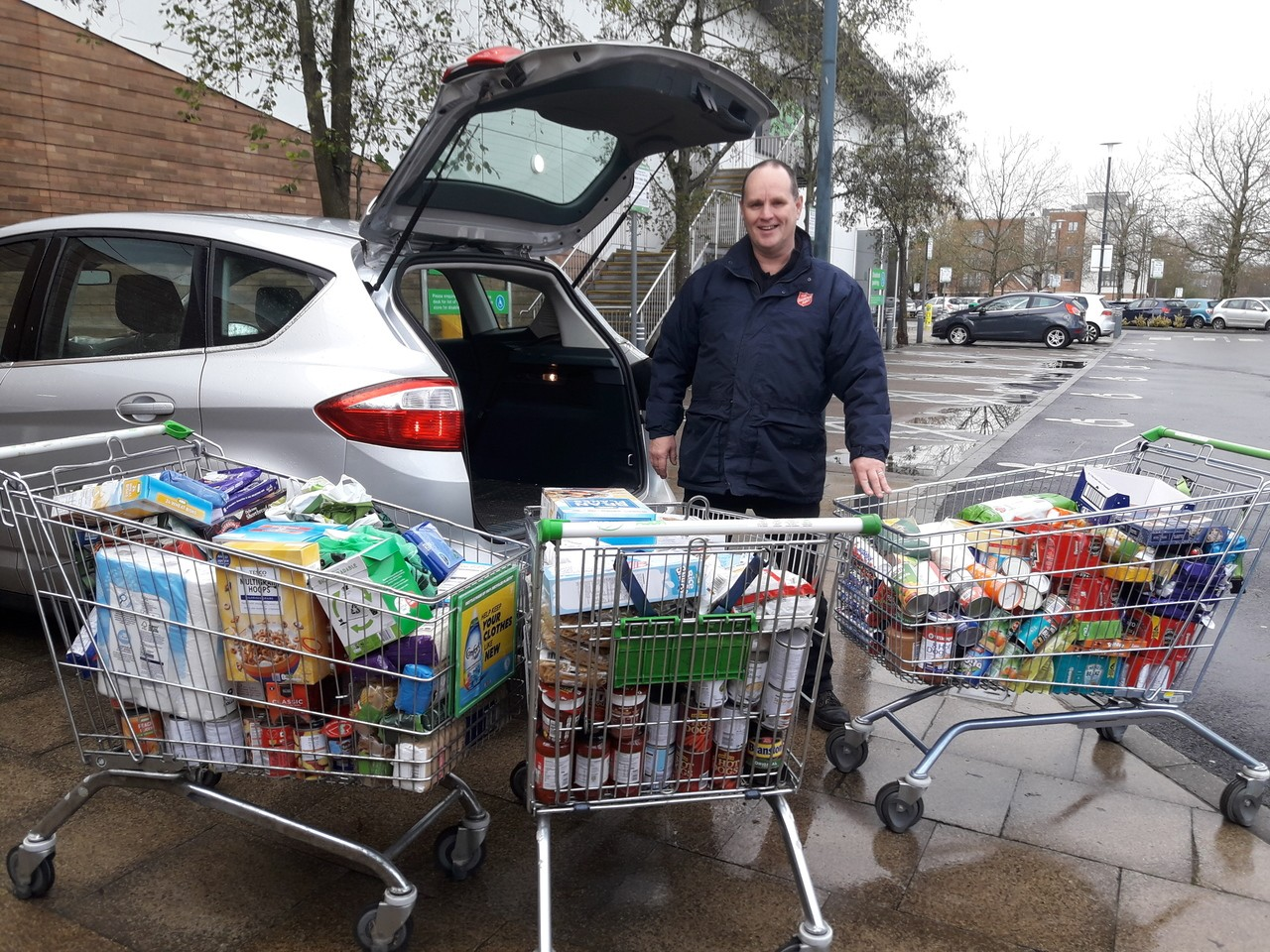 Salvation Army Fight Hunger donation | Asda Kingshill