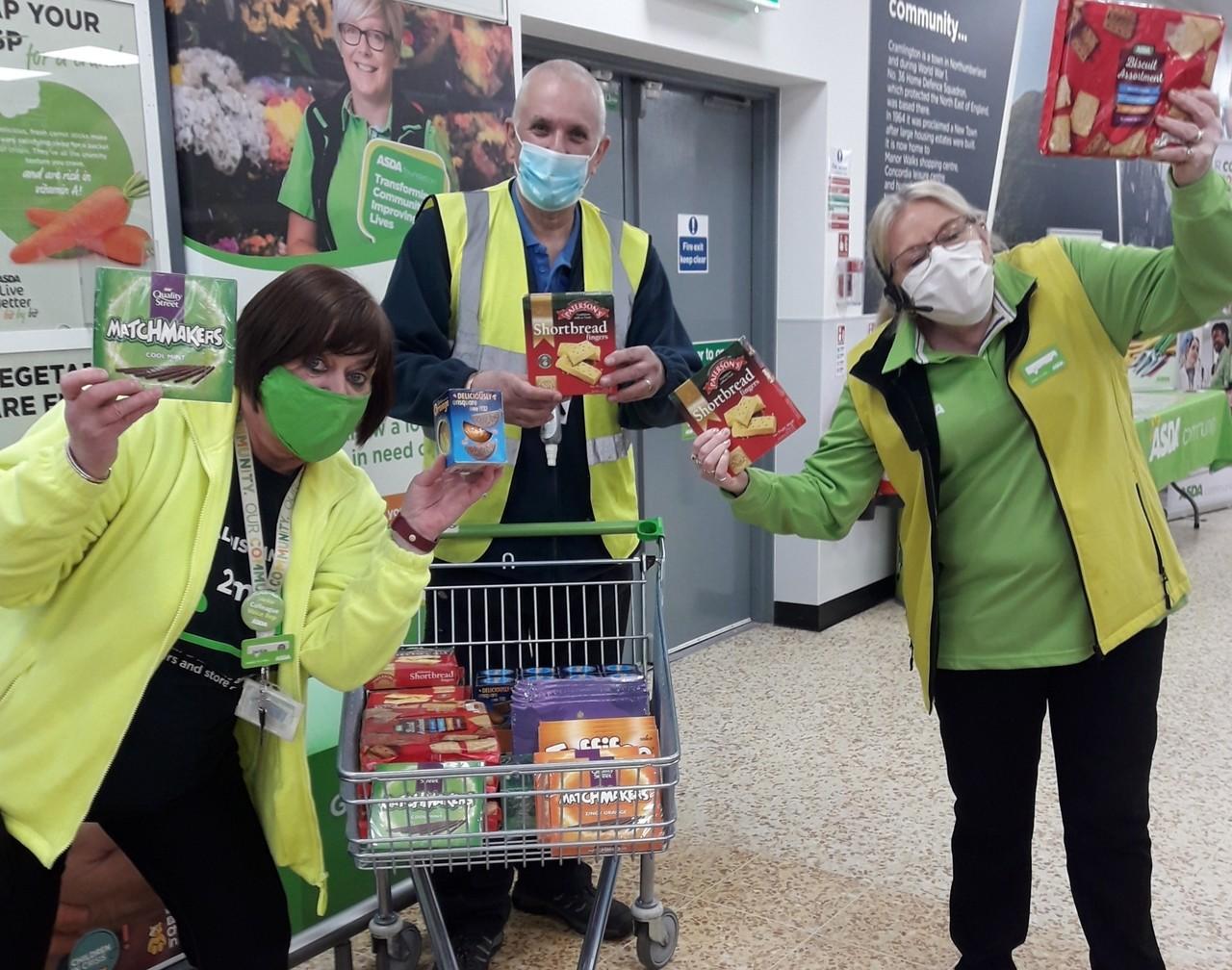 Age UK donation | Asda Cramlington