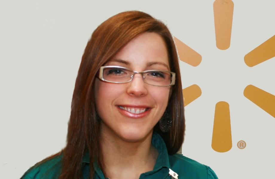 Walmart Associate Nicole Sanborn