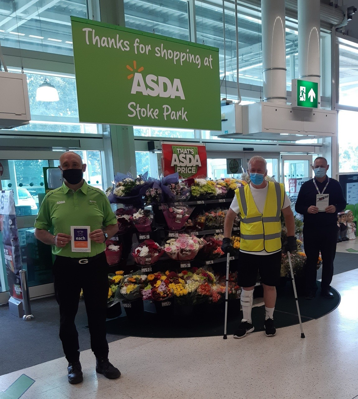 Andy's an inspiration to us all | Asda Ipswich Stoke Park