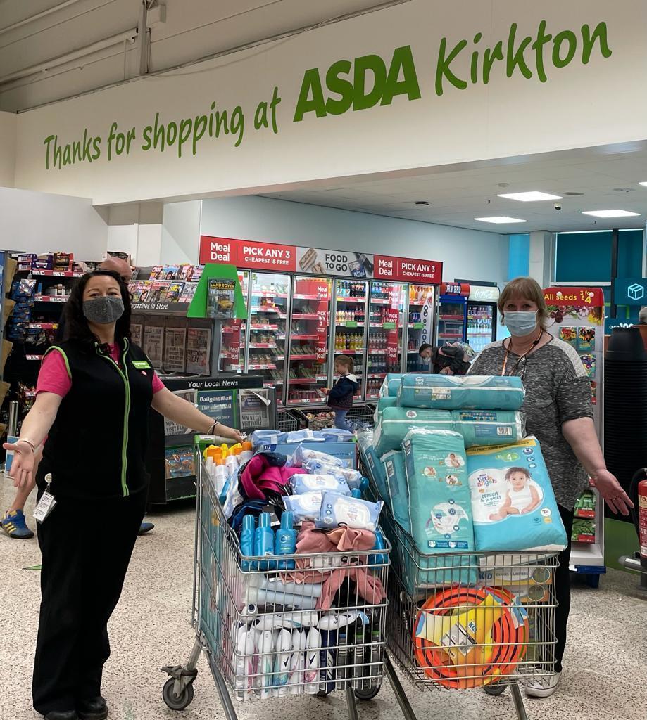 Health team grant | Asda Dundee Kirkton