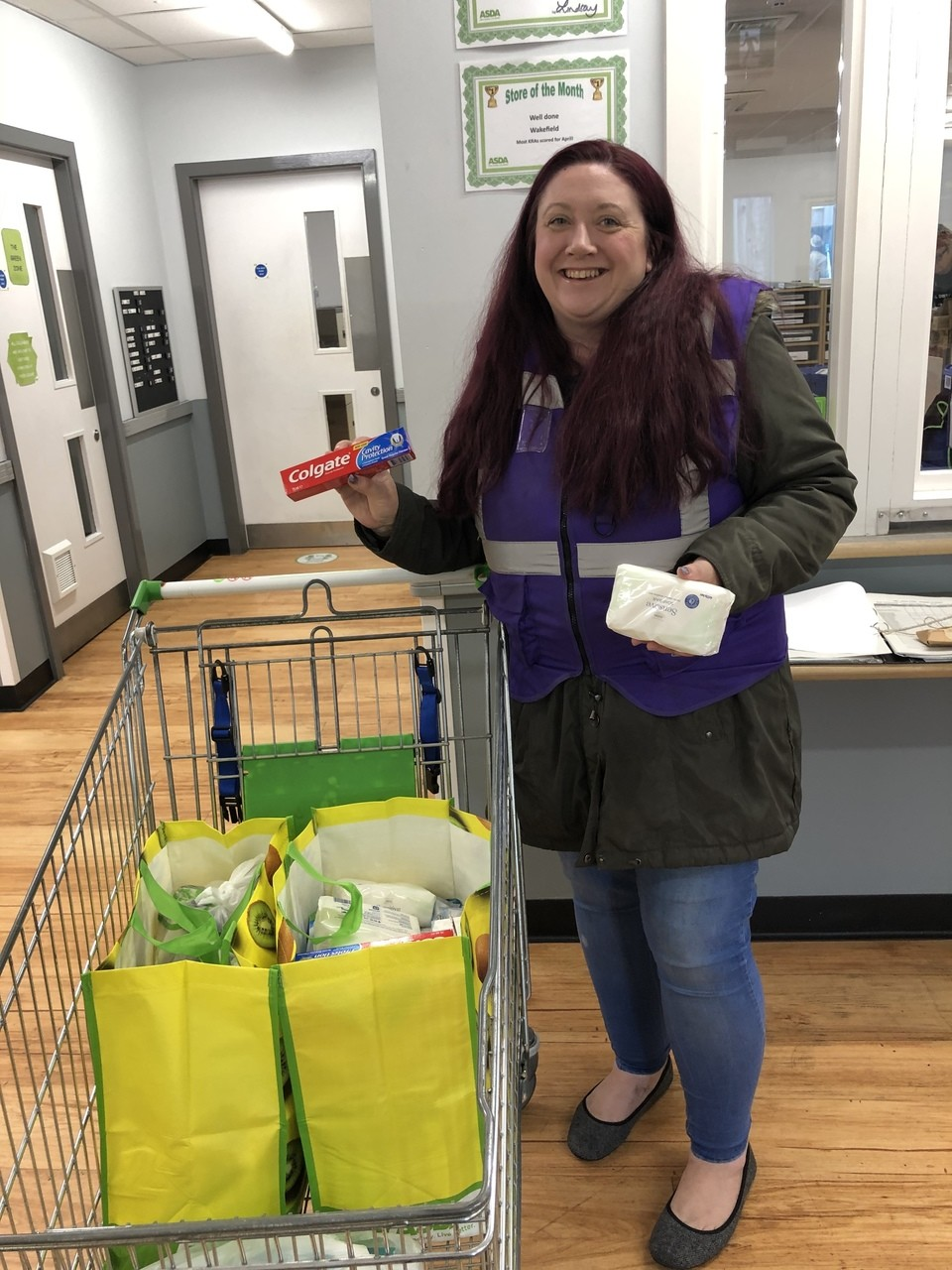 Foodbank donations | Asda Wakefield