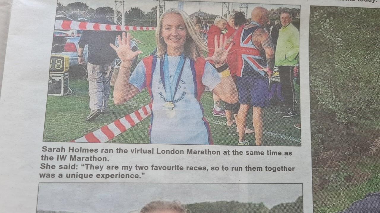 Well done Sarah | Asda Newport Isle of Wight