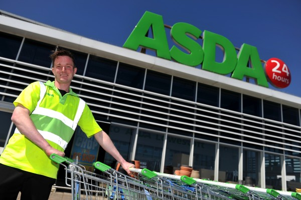 George outside our Lowestoft store