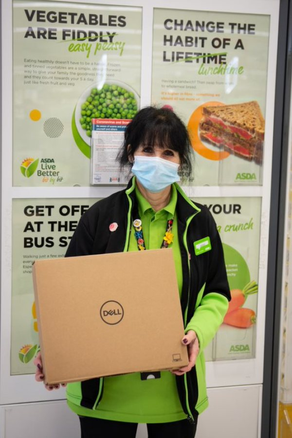 Asda is donating 7,000 Dell laptops to schools
