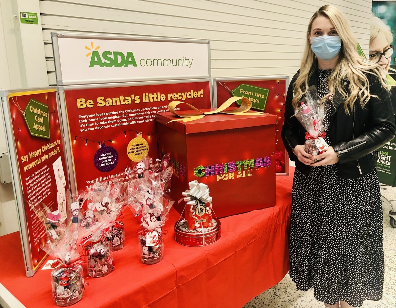 Donation for the NHS | Asda Leicester Abbey Lane
