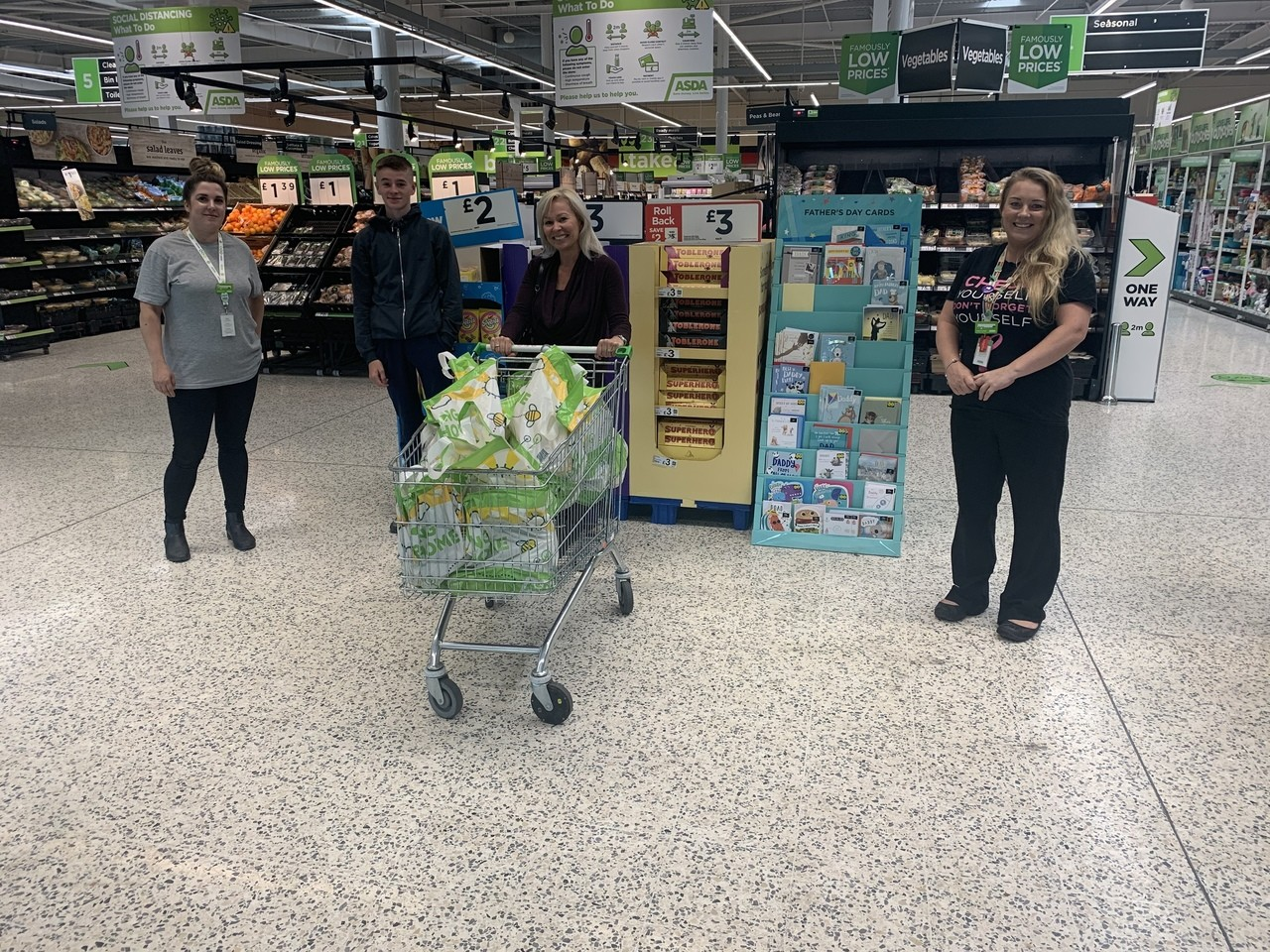 Donation to Health for All Leeds | Asda Middleton