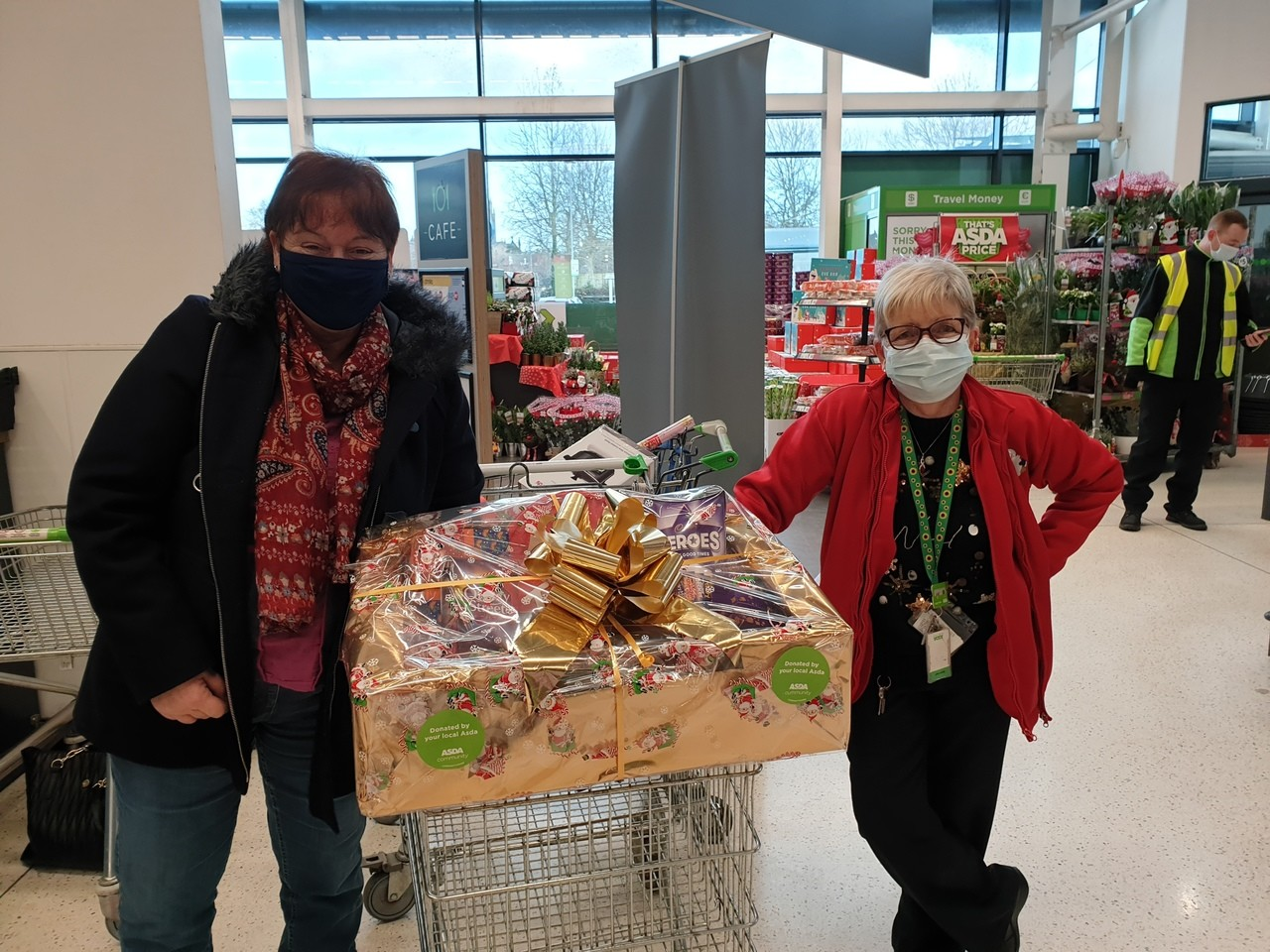 Help for local charity Hope Support Services   Asda Hereford
