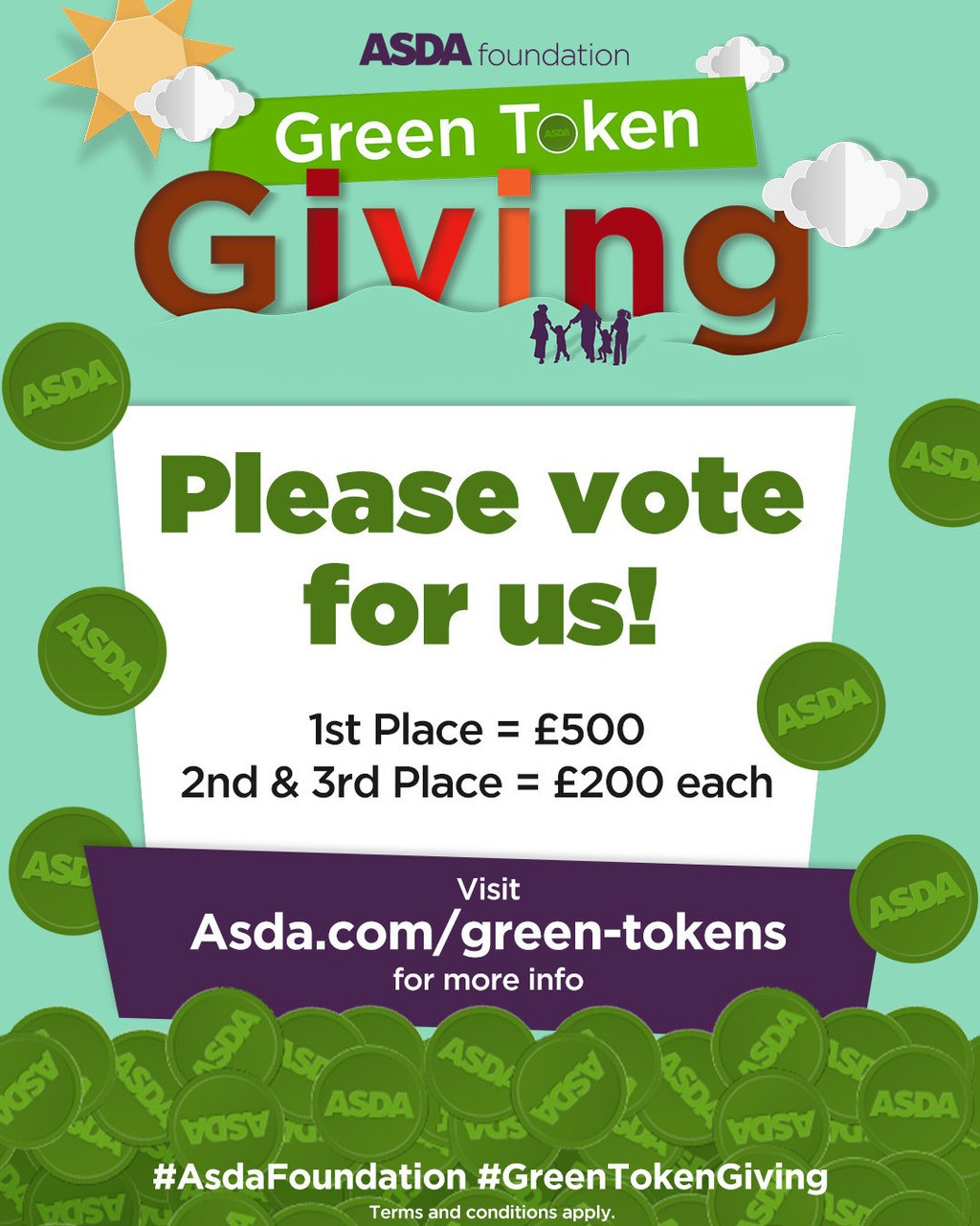Digital Green Tokens | Asda Plymouth