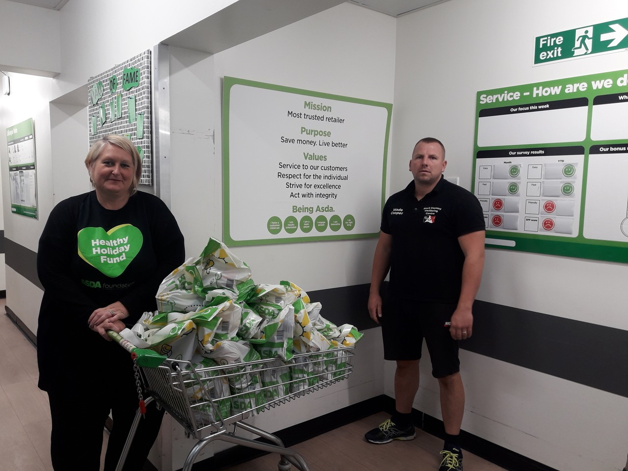 Donation time | Asda Sedgley