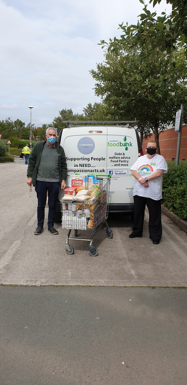 Southport Foodbank Donation | Asda Southport