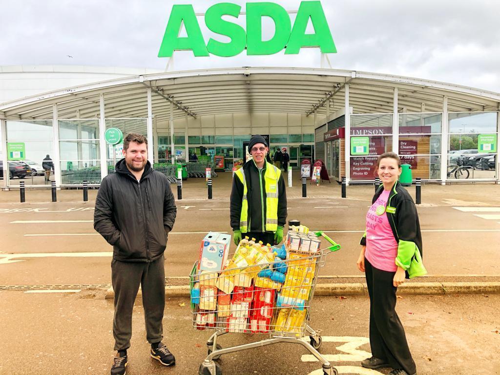 Feel Good Community donation | Asda Leyton Mills