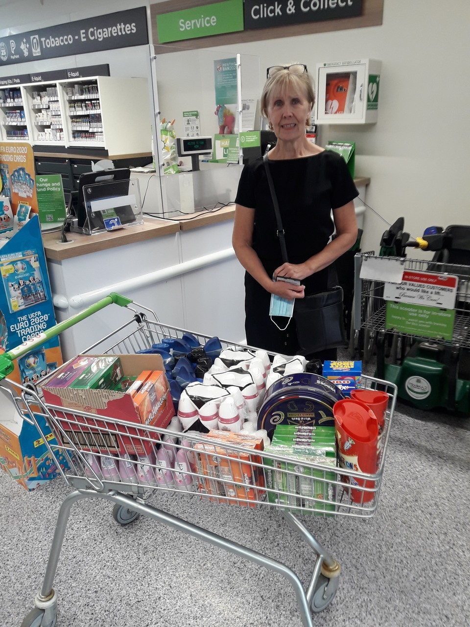Donation to Russells Hall Hospital | Asda Sedgley